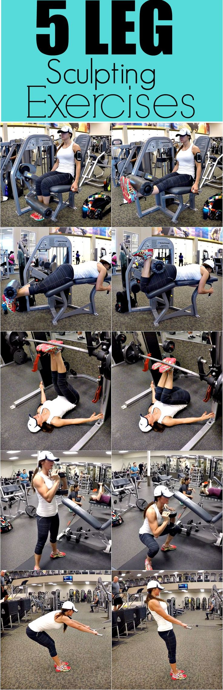 5 LEG SCULPTING EXERCISES
