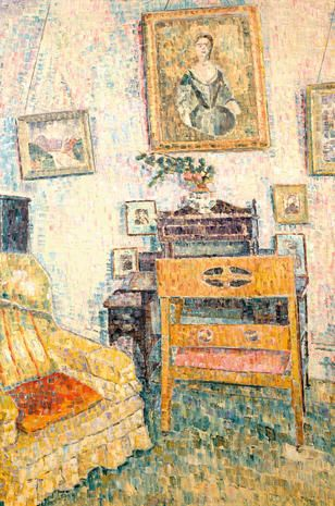 GRACE COSSINGTON SMITH Portrait Over the Writing Desk (1961)