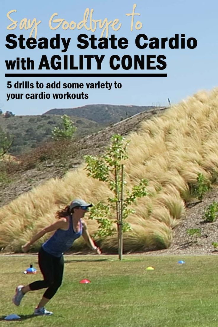 Forget boring steady state cardio, ramp up your workout and calorie burn with these 5 agility cone drills. What is agility training? Why do it?