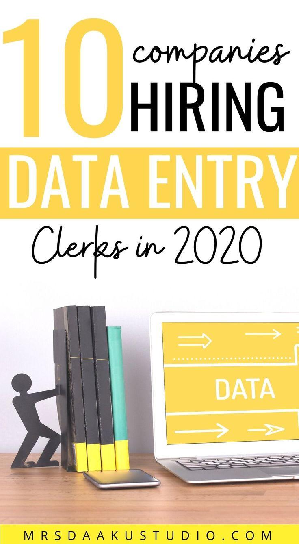 19 online Data Entry jobs from home (100 Legit HIRING