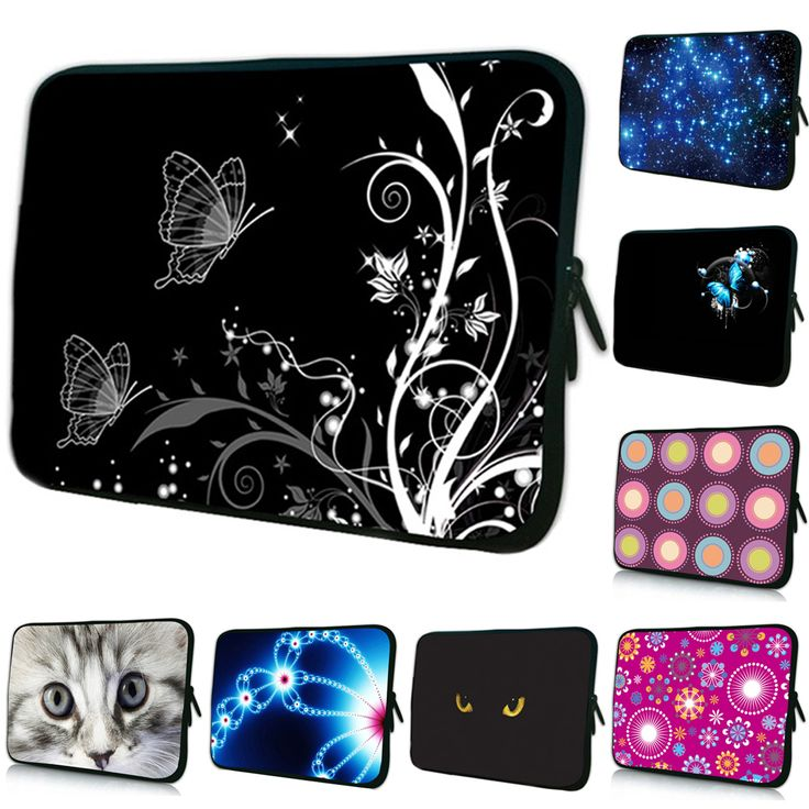 Tablet Case 10.1 Inch 2017 Fashion Computer Beautiful Butterfly Bag Notebook Case 14 12 10 7 13 15 17 8 Inch Sleeve Laptop Bags #Affiliate