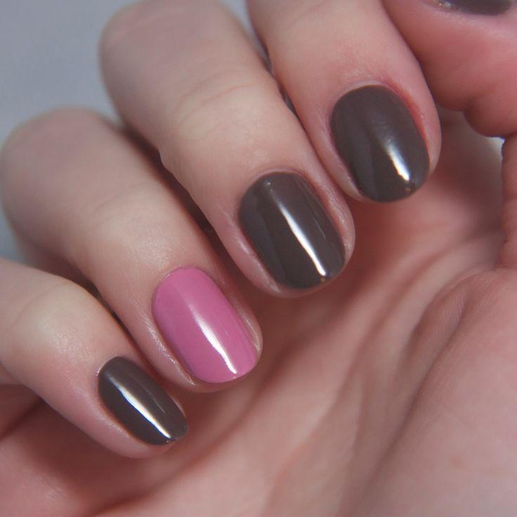 31 best images about brown nails u as marrones on. Black Bedroom Furniture Sets. Home Design Ideas