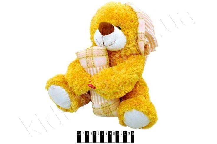 Ведмедик з подушкою муз. XJ61069, игра магазин игрушек, купить игрушку соник, детские игры одевать кукол, купить мягкие игрушки оптом, онлайн магазин детских игрушек, мягкие развивающие игрушки