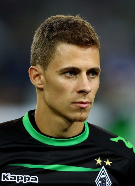 Thorgan Hazard of Borussia Moenchengladbach looks on during the UEFA Champions League group C match between VfL Borussia Moenchengladbach and FC Barcelona at Borussia-Park on September 28, 2016 in Moenchengladbach, North Rhine-Westphalia.