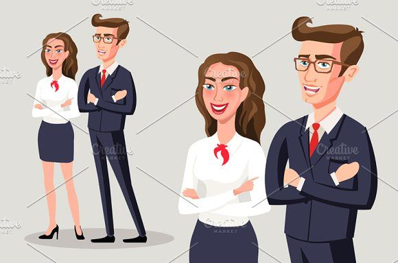 Business people group team by Rommeo79 on @creativemarket