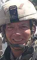 Army Sgt. 1st Class Lawrence E. Morrison Died September 19, 2005 Serving During Operation Iraqi Freedom 45, of Yakima, Wash.; a reservist assigned to the U.S. Army Civil and Psychological Operations Command, Fort Bragg, N.C.; died Sept. 19 in Baghdad of injuries sustained earlier that day when an improvised explosive device detonated near his vehicle in Taji, Iraq.