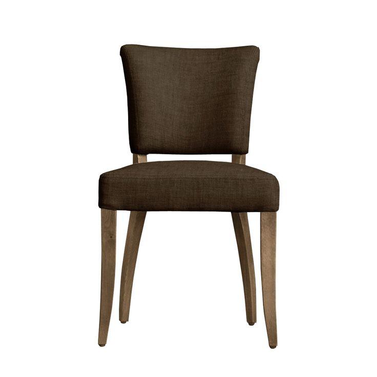 Beatrice chair стул 53x63x88h             Метки: Кухонные стулья.              Материал: Ткань, Дерево.              Бренд: Gramercy Home.              Стили: Лофт, Скандинавский и минимализм.              Цвета: Коричневый, Темно-коричневый.