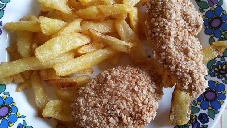 """""""Diétás"""" rántott hús: rántott csirkemell zabpehely bundában"""