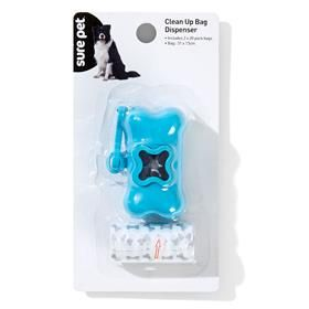 Clean Up Bag Dispenser - Blue & Teal