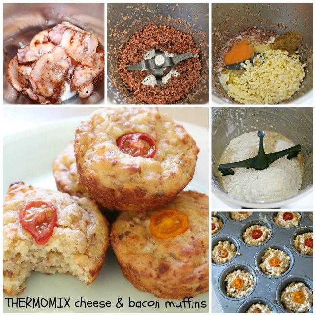 Mrs D plus 3 | Thermomix cheese and bacon lunch-box muffins | http://www.mrsdplus3.com