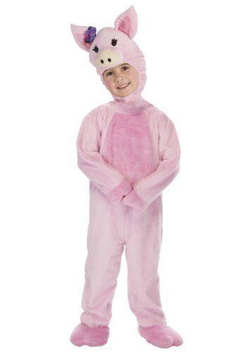 Little Girls' Toddler Pig Costume Small (1T - 2T) *** Check this awesome product by going to the link at the image.
