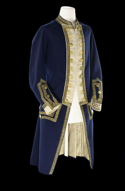 Captain's full dress frock coat. Royal Naval uniform: pattern 1774