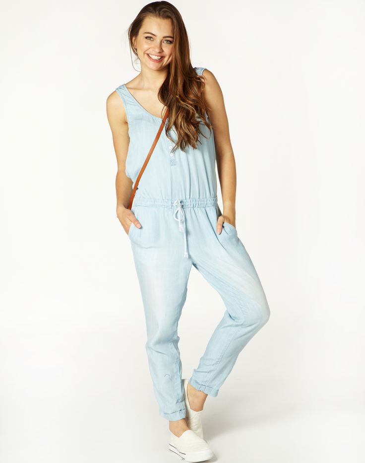 Button Down Jumpsuit from Glassons