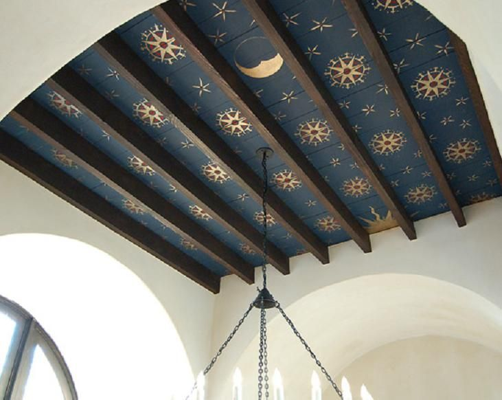 Byzantine painted ceiling, Charleston, SC... would like to see something…