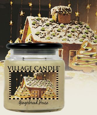 Gingerbread House| New Kitchen Collection Scented Candles | Village Candle