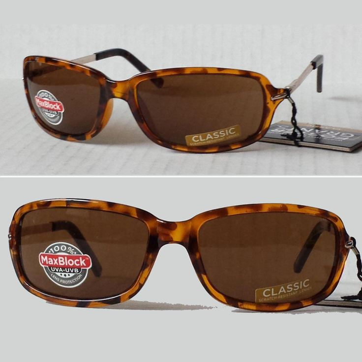 Foster Grant #women sunglasses brown rectangular IMPRESSION with metal side bars visit our ebay store at  http://stores.ebay.com/esquirestore