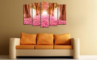 Розовое покрывало » Купить модульные картины + подарок!