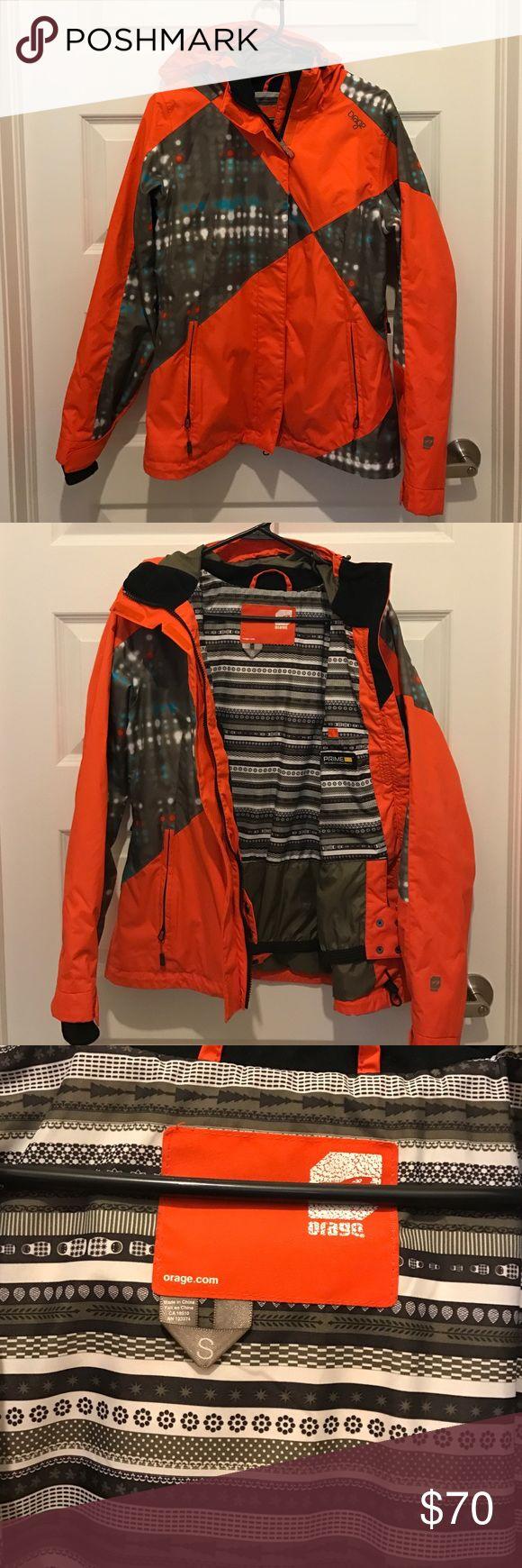 Orage ski/snowboard jacket size S Orage ski/snowboard jacket. Size S. only worn once. Excellent condition! Smoke and pet free home. orage Jackets & Coats