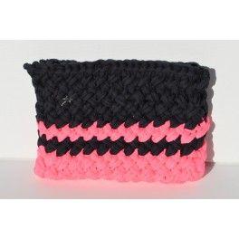 Ice case- Funda para ipad o ipad mini en dos colores #TheWoolCollection #knitting #tejer #trapillo