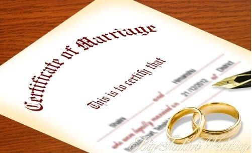 How To Apply For Marriage Certificate Online Or Offline