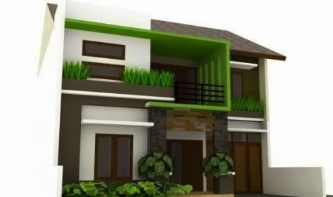 Elegant Minimalist House Design | Desain Rumah Minimalis Elegan