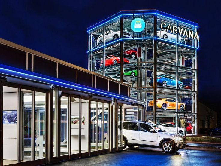 Airport Vending Machines | Carvana Launches World's First Car Vending Machine in Nashville