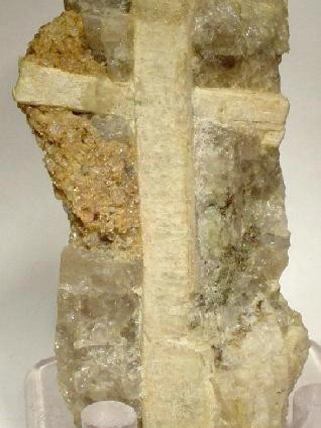 Meionite - a tectosilicate mineral first discovered on Mount Vesuvius in 1801