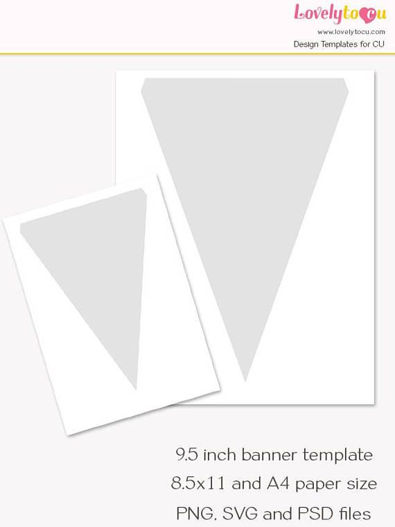 Best 25+ Pennant banner template ideas on Pinterest | DIY bunting ...