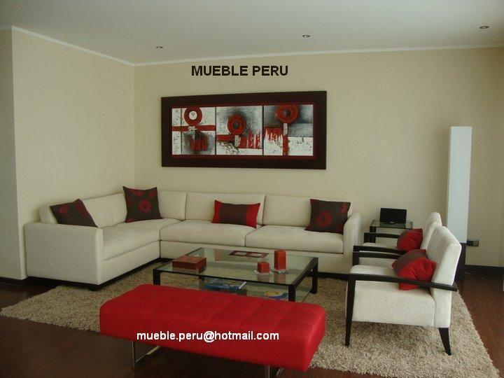 Muebles de sala modernos hogar pinterest peru for Muebles de sala modernos