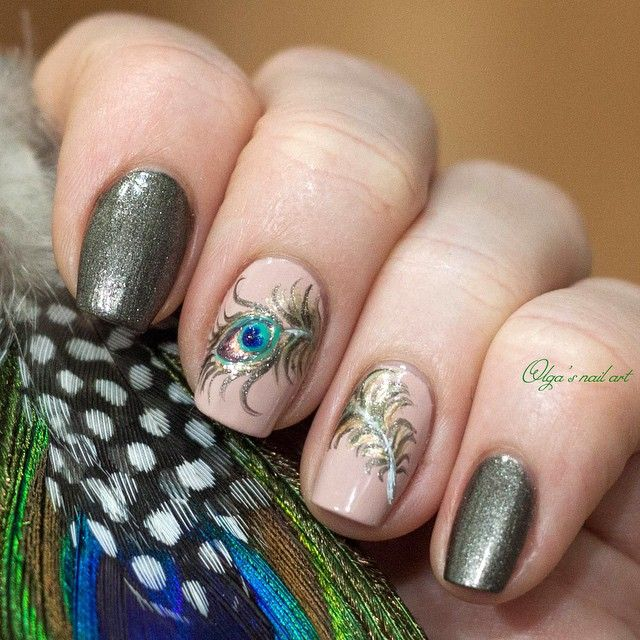 """Второй дизайн ""перо павлина"". Тут раскинулось на два ногтя)) #Olga_s_nail_art #orly #orlynails #orly_russia #nails #nailart #nailekb #naildesign #manicure #ekbnails #ekbmanicure #екбманикюр #екбмастерпоманикюру #делаюманикюр #дизайногтей #ногти #ногтиекатеринбург #перопавлина #павлин #peacock"" Photo taken by @olga_s_nail_art on Instagram, pinned via the InstaPin iOS App! http://www.instapinapp.com (03/15/2015)"