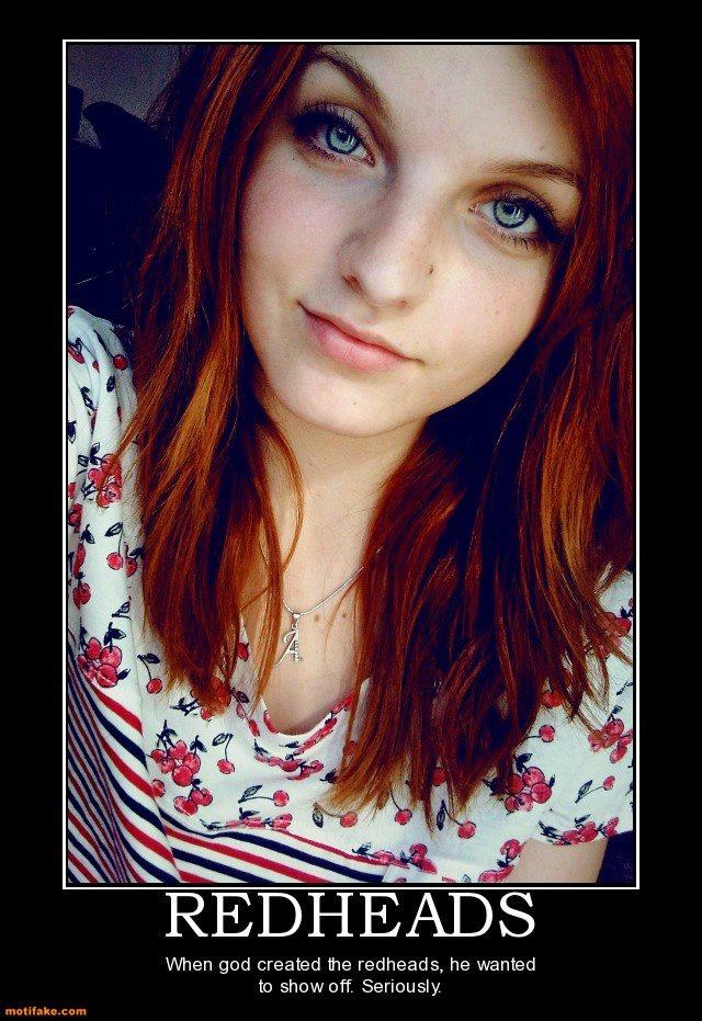 Redhead like my daddy