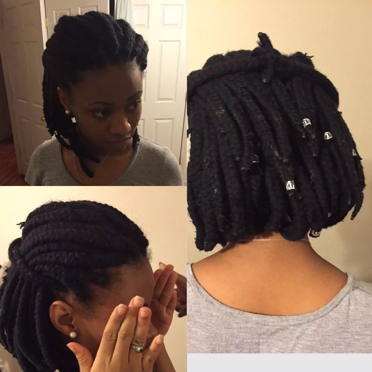 different styles for bobbed hair yarn braids in a bob hair yarns braids 6323 | 16ec6f5398b81dd1f355b70b33b6238a
