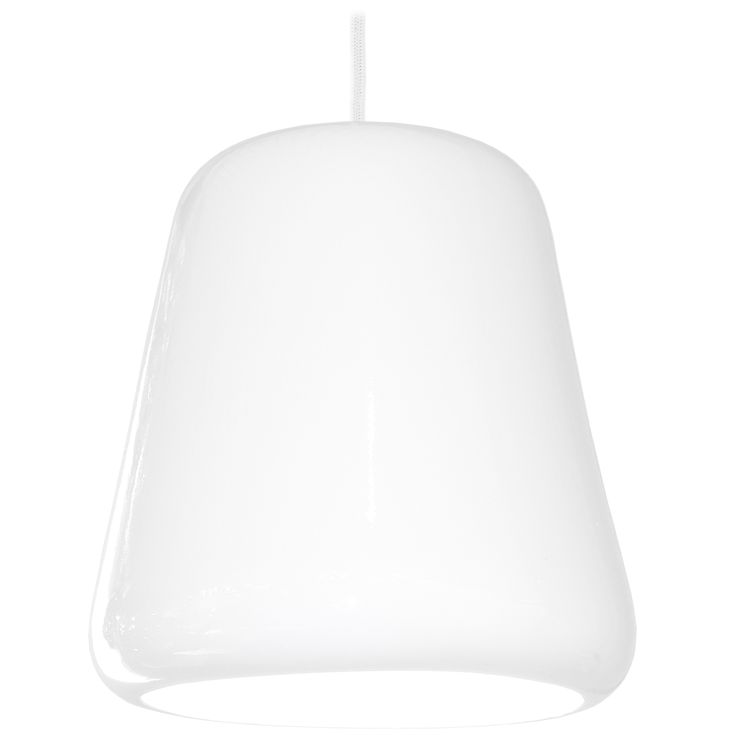 Scandinavian Pendant light in porcelain Selma by Juho Pasila