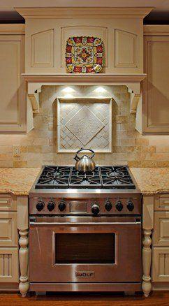 Pictures of Kitchen Range Hoods | Handmade Kitchen Range Hoods by Superior Woodcraft, Inc. | CustomMade ...