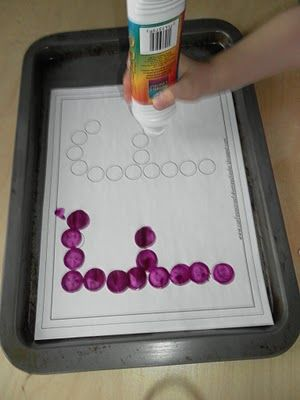 Bingo dabbing letters and other ideas for learning letters