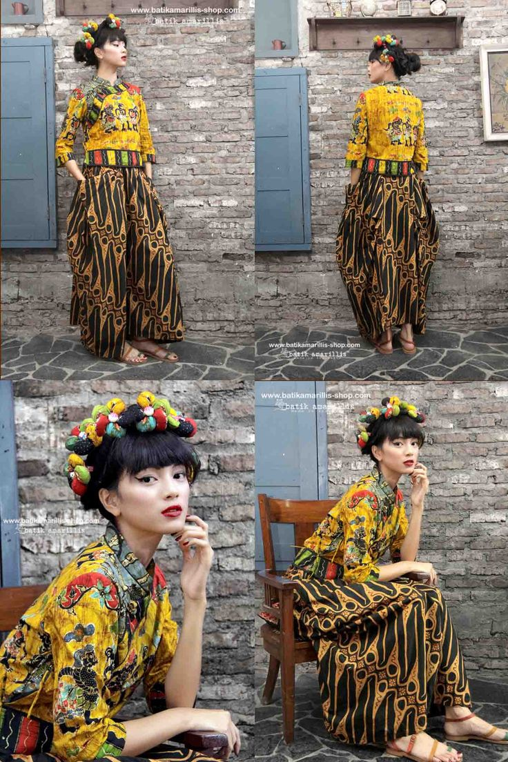 batik amarillis's joyluck jacket in handrawn batik wonogiren  Ethnic inspired outfit to bring you Joy & Luck.. beautiful reinvention of classic Qipao with exquisite detailing such as color combos,handmade chinese frog button,fittingly beautiful & it provides the ideal combination of