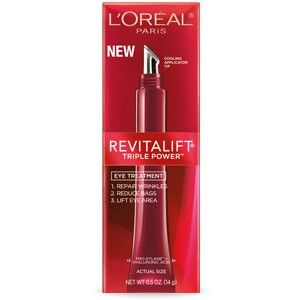LOREAL Revitalift Eyes I LOVE the cooling effect when I apply this eye cream!