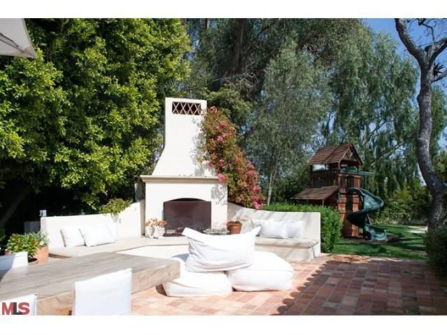 14 best backyard spanish chimney images on pinterest for Spanish style outdoor fireplace