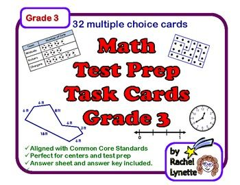 44 best testing images on pinterest classroom ideas math test and math test prep and review task cards for 3rd grade fandeluxe Choice Image