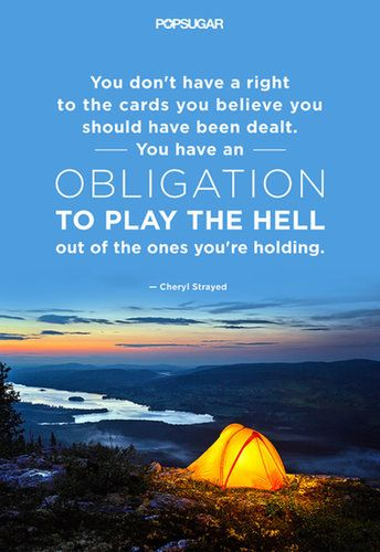 ...play the hell out of the ones you're holding.