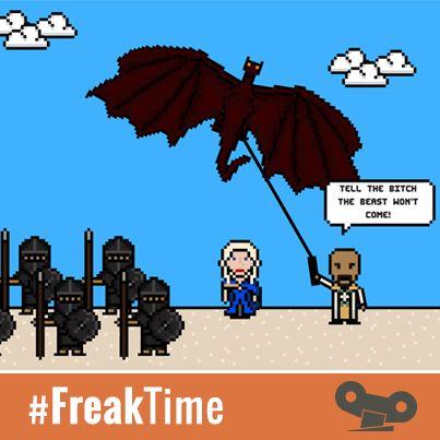 #FreakTime  Las 14 muertes más impactantes de Juego de Tronos en 8 bits.   ¡Maravilloso! http://goo.gl/iUq3QA