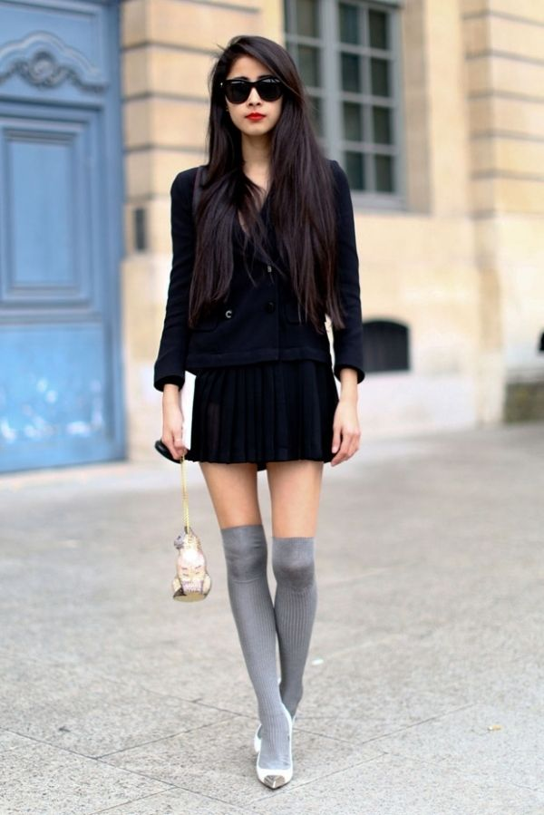 7 Fabulous Streetstyle Inspired Ways to Wear over the Knee ...