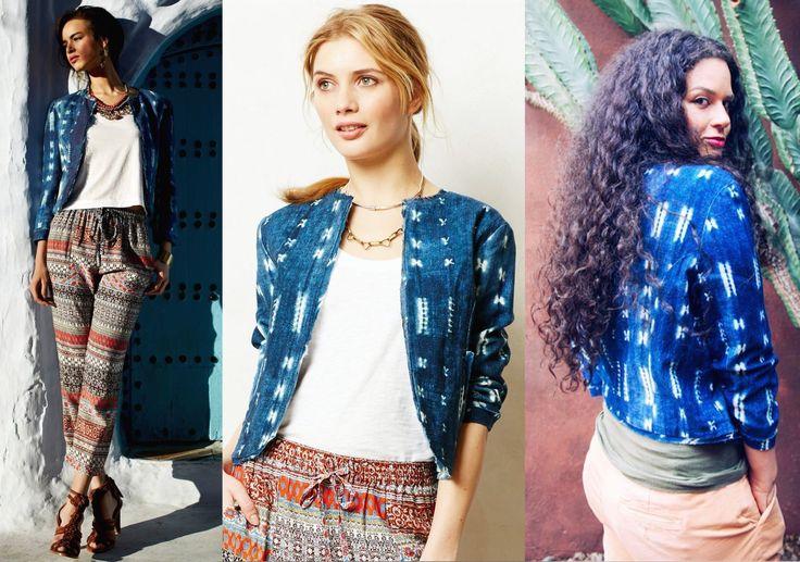 Clothing with Indigo dye