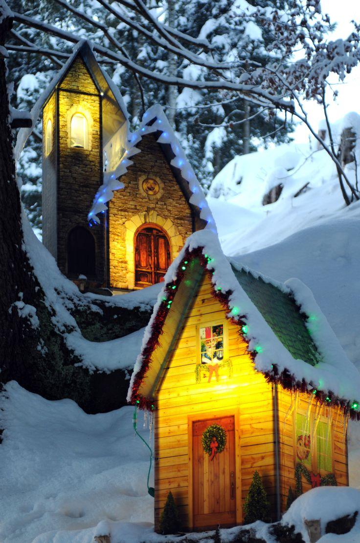 Christmas Village in Caux (Montreux Riviera, Switzerland)