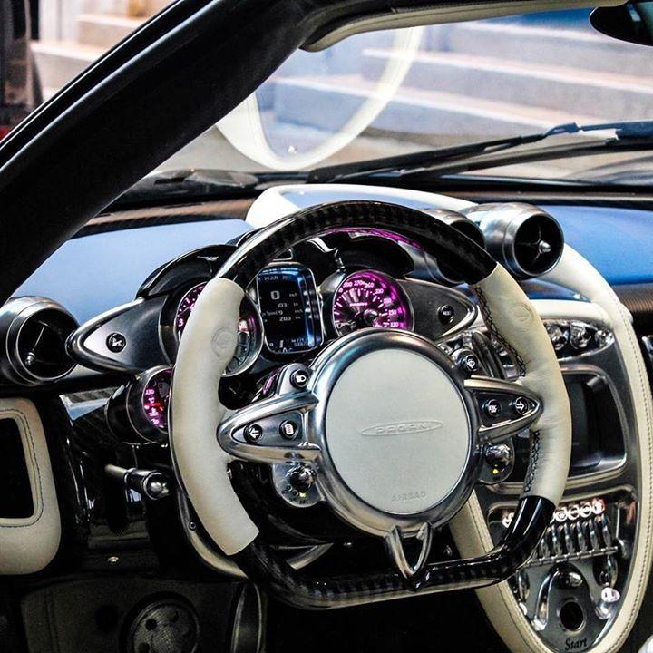 Pagani Interior 🤩 #cardoings #cars #supercars #auto #BMW #Audi #Mercedes #Deals #automotive