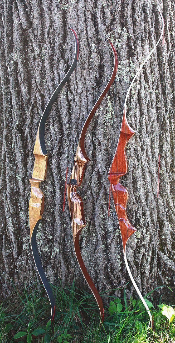 "Staghorn Archery Custom Recurve Bows Tempest 64"" The XP 60"" TRIUMPH 69"""