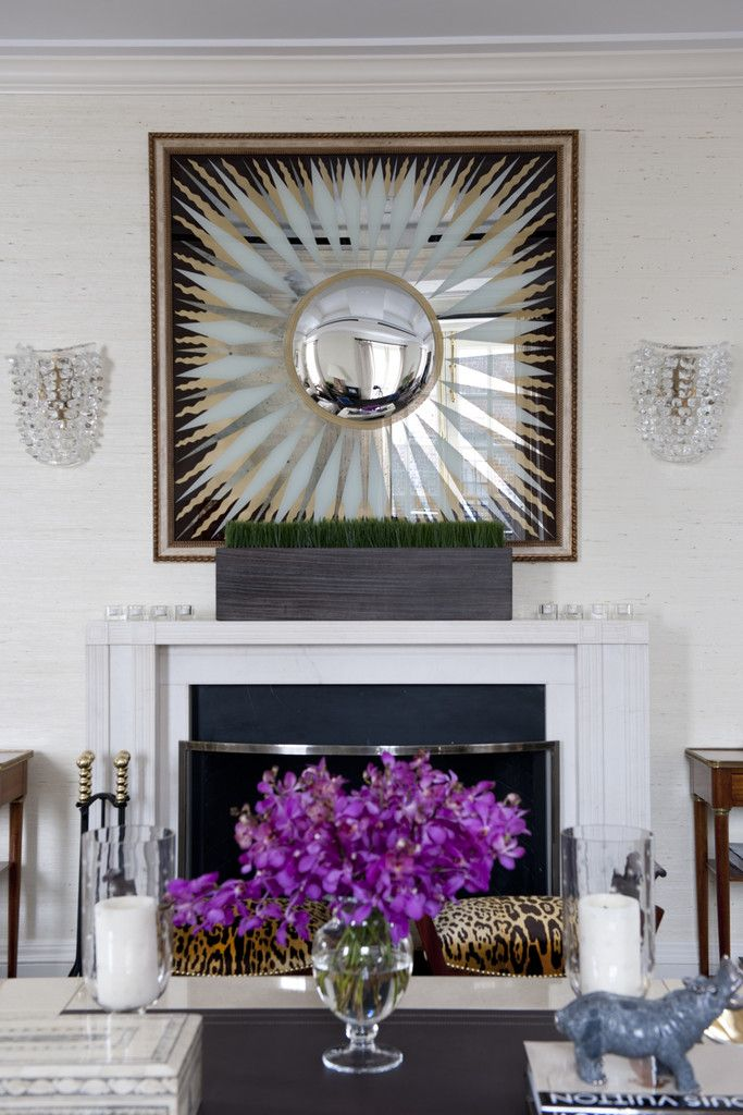 New York City Penthouse Living Room Vignette Transitional By Kirsten Kelli LLC