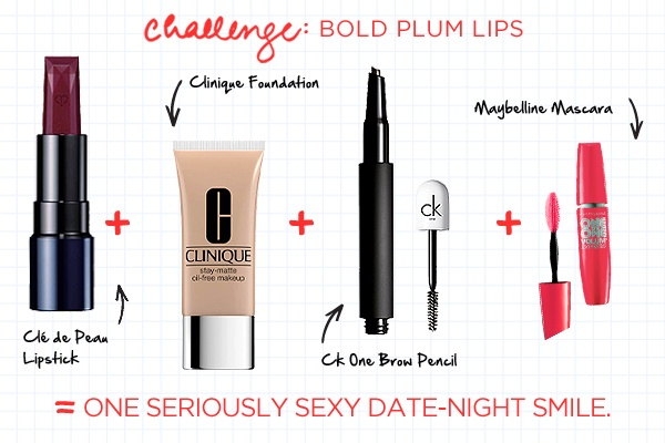 The perfect products to achieve a bold plum lip look on the Big Day #wedding #makeup