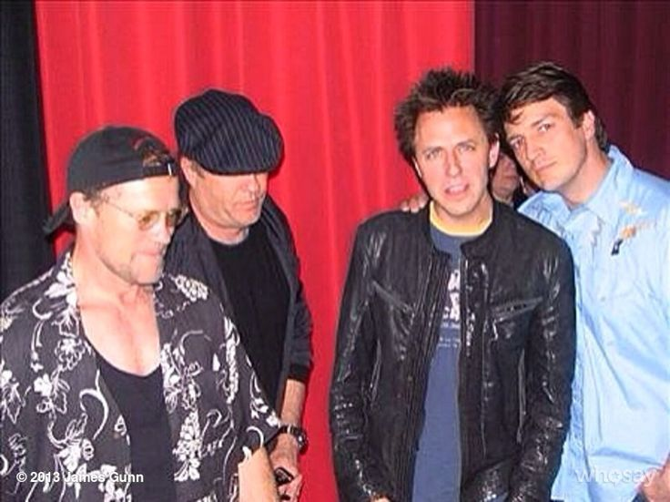#ThrowbackThursday Screw the Boys of Summer, here's the Boys of Slither from Michael Rooker from James Gunn whosay 2008, w @GreggHenry88 @Michael_Rooker @NathanFillion