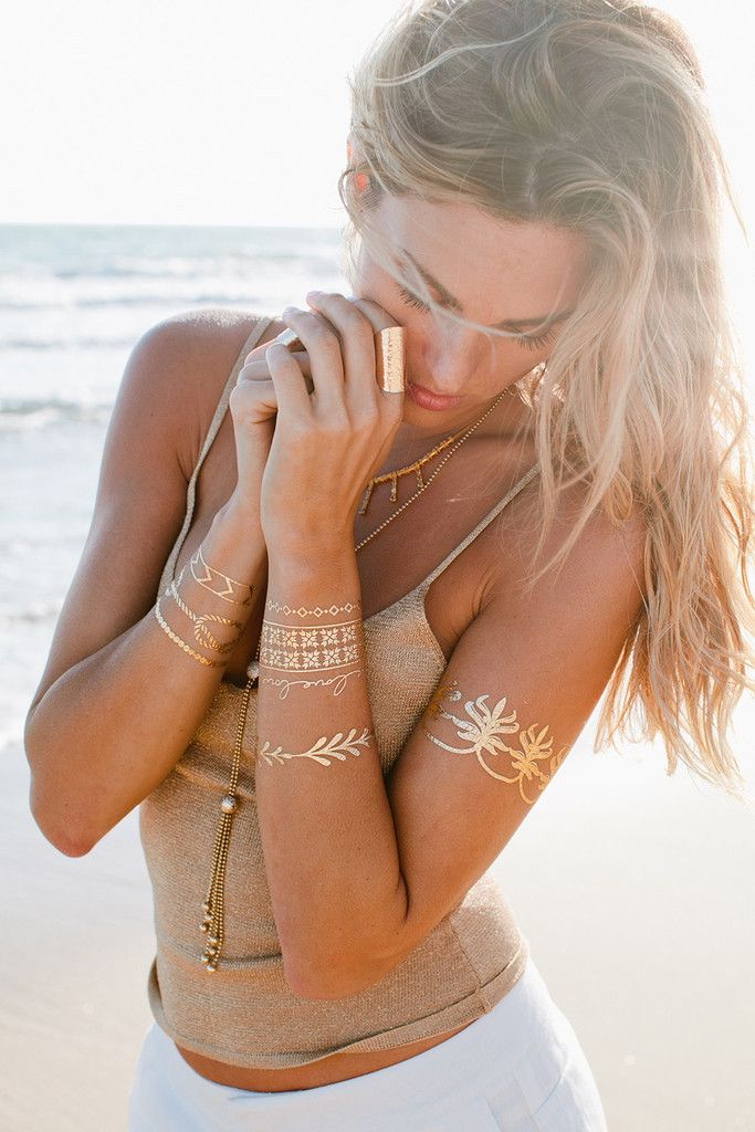 "Lulu DK ""Love Story"" Jewelry Tattoos 